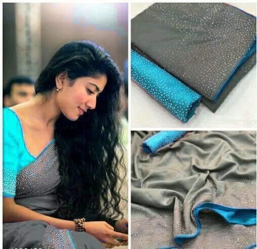 diamond joya silk saree