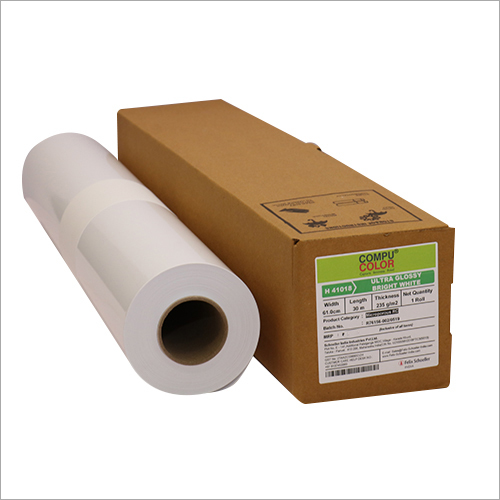 Ultra Gloss Bright White Paper
