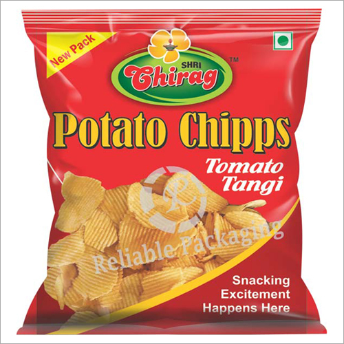 Potato Chips Packaging Pouches