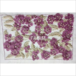 Hand Embroidery Sequin Patch