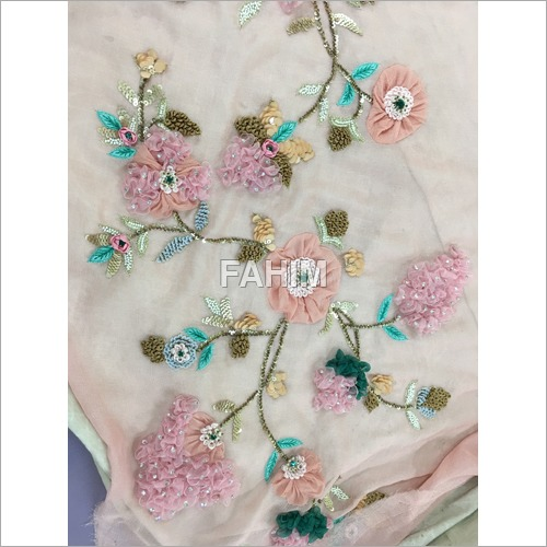 Hand Floral Embroidery