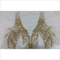 Hand Embroidery Jewel Effect Work
