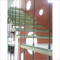 Staircase Toughened Glass
