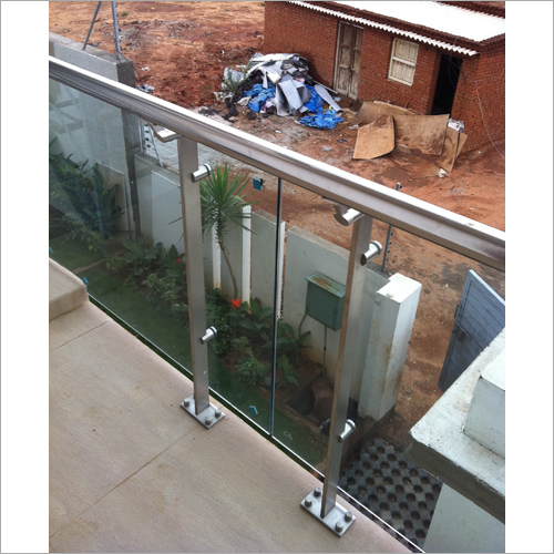 Transparent Balcony Railing Glass