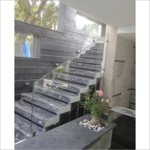 Transparent Staircase Glass