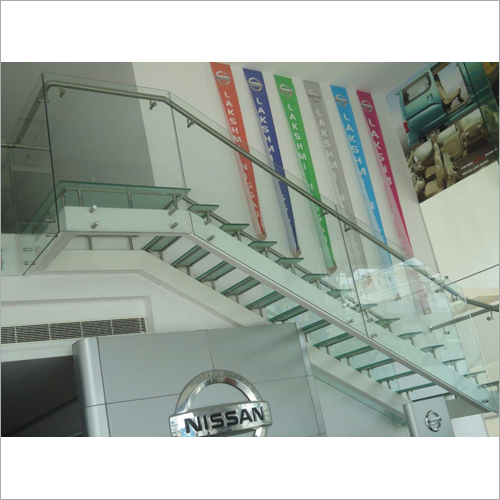 Staircase Laminated Toughened Glass