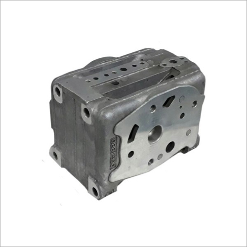 Locomotive Pipe Bracket Casting