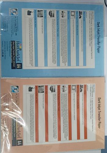 HotDarkJet Dark InkJet Transfer Paper(Glossy)(Matt