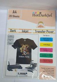 HotDarkJet Dark InkJet Transfer Paper(Glossy)(Matt)