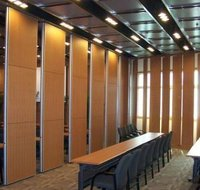 ACOUSTIC SLIDING FOLDING PARTITIONS