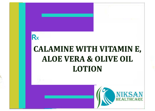 Calamine With Vitamin E, Aloe Vera & Olive Oil Lotion