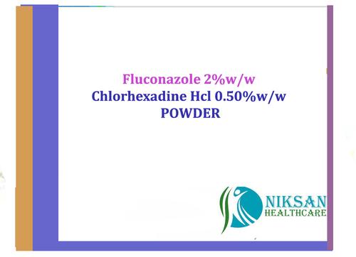 Fluconazole & Chlorhexadine Hcl Powder