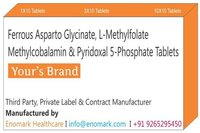 Ferrous Asparto glycinate L-methylfolate methylcobalamin pyridoxal 5-phosphate