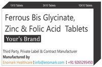 Ferrous Bis Glycinate Zinc Folic Acid  Tablets