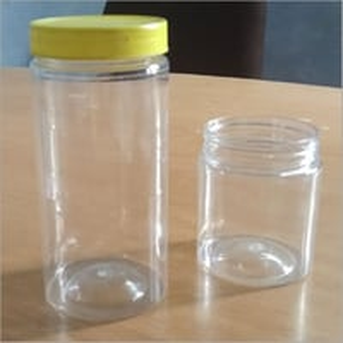 Plastic Storage Jar