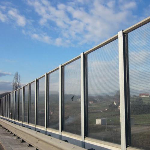 Polycarbonate PMMA Noise barrier