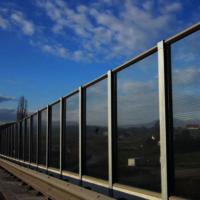 Polycarbonate /PMMA Noise barrier
