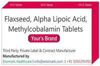 Flaxseed, Alpha Lipoic Acid, Methylcobalamin Tabletse