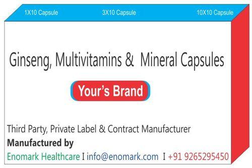 Ginseng MultivitaminsMineral Capsules