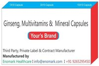 Ginseng Multivitamins Mineral Capsules