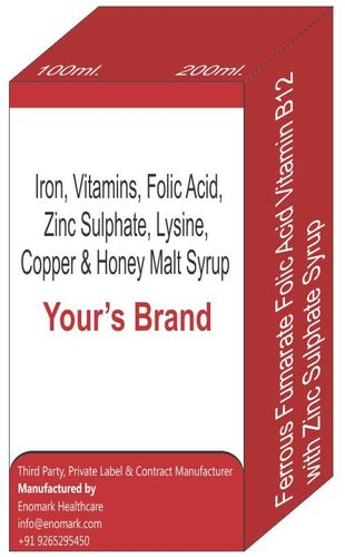 Iron Amino Acid and Vitamin Capsule
