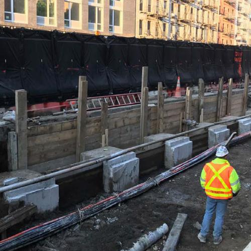 Construction Site Noise Barrier