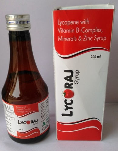 Lycopene with vitamin B-complex,Minerals & Zinc Syp