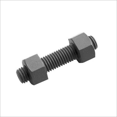 Stud Bolts With 2 Heavy Hex Nut