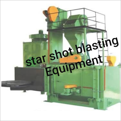 Swing Turn Table Type Shot Blasting Machine