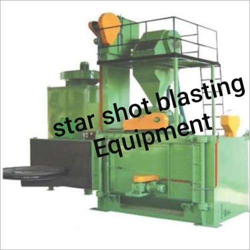 Swing Turn Table Type Shot Blasting Machine