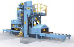 Roller Conveyor Shot Blasting Machine