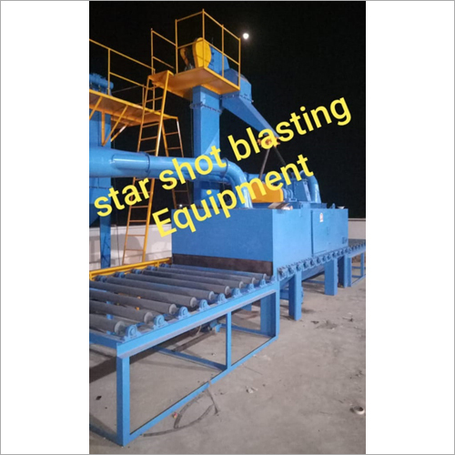 Roller Type Blasting Machine