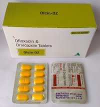 Ofloxacin 200mg + Ornidazole 500mg tablet