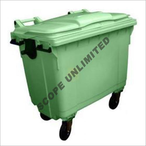 1100 Litre Wheeled  Flat Top Waste Dustbin