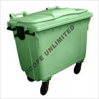 1100 Litre Wheeled  Flat Top Waste Dustbin