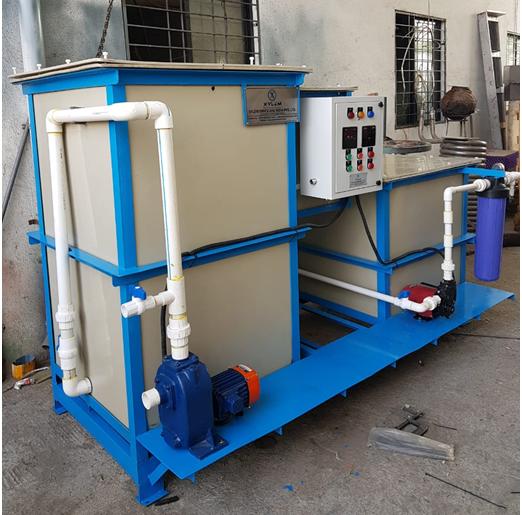 Electro-Coagulation Waste Water Treatment Plant