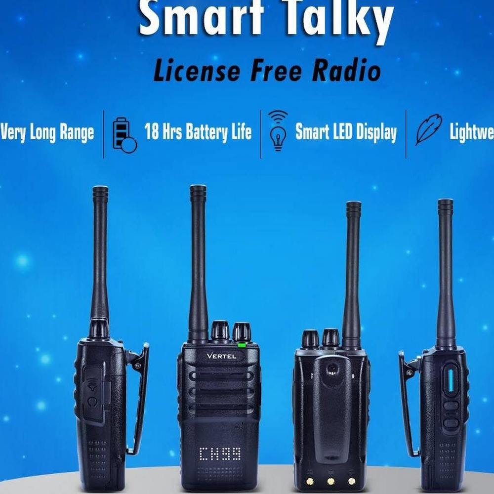 License free walky talky