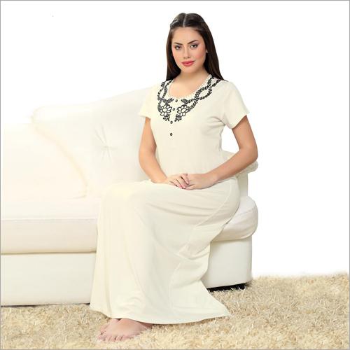 Designer Cotton  Night Gown