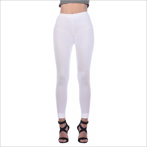 Ladies White Legging