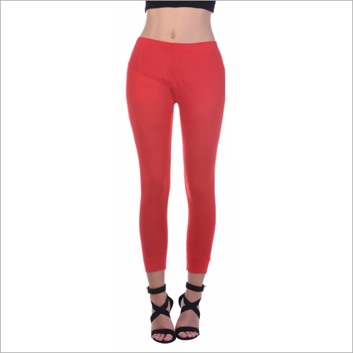 Ladies Red Legging