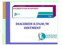 Diacerein 0.5 % W/W Ointment