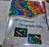 Crack Ice Transparent Holographic films