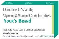 L ornithine L-aspartate Silymarin Vitamin B complex Tablets