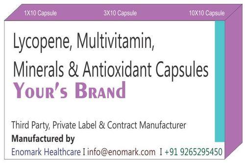 Lycopene Multivitamin Minerals & Antioxidant Capsules