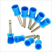 10 pcs Dentmark Blue Colour Dental Prophy Cups