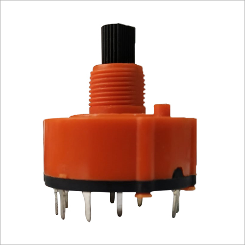 26 mm 5 Step Rotary Switch (Free Rotation)
