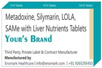 Metadoxine Silymarin Lola, SAMe with Liver Nutrients Tablets
