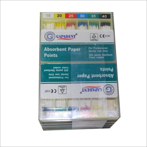 Dentmark Paper Point .02 Taper Dental Absorbent