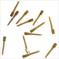 Dentmark Dental Screw Post Gold Plated Refill