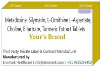 Metadoxine Silymarin L-Ornithine-L-Aspartate Choline Bitartrate Turmeric extract